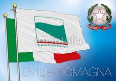 emilia romagna, italian regional flag