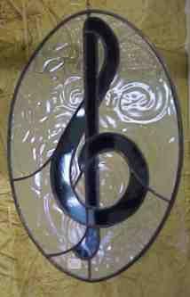 oval treble clef