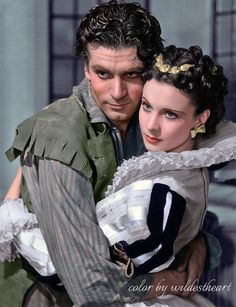 Sr. Laurence Olivier and Vivien Leigh