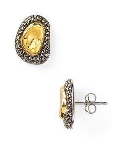 Judith Jack 14kt Gold Plated Sterling Silver Marcasite Reef Stud Earrings - Jewelry & Accessories - Categories - Sale - Bloomingdale's