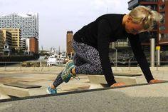 Hüftspeck wegtrainieren: Flacher Bauch: 3 Übungen gegen Rettungsringe - FIT FOR FUN