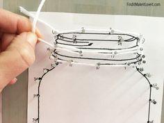 Mason Jar String Art - Find it, Make it, Love it