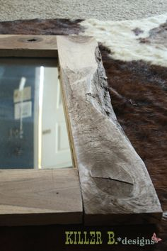 Free DIY Project Plan: Learn How to Build a Rustic Mirror