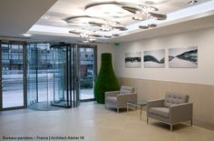 #‎Mercury‬ ceilings for a good first and last impression of this company ► http://bit.ly/1fvjLUJ ‪#‎design‬ Ross Lovegrove