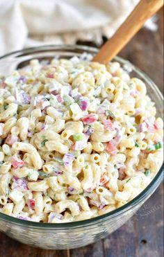 Homemade Macaroni Salad, Macaroni Salad Ingredients, Creamy Macaroni Salad, Best Macaroni Salad, Pasta Salad Recipes, Recipe For Macaroni Salad, Southern Macaroni Salad, Creamy Pasta Salads, Small Pasta