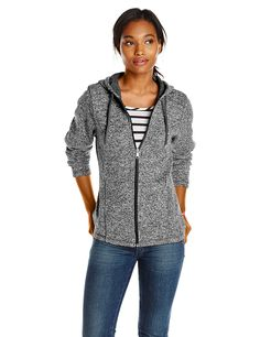 Dickies Women's Sweater Hooded Jacket -- This is an Amazon Affiliate link. You can get additional details at the image link.