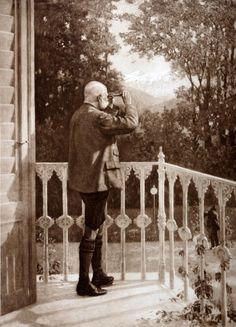 Empreror Franz-Joseph at the Kaiservilla Kaiser Franz Josef, Franz Josef I, Empress Sissi, The Empress, Die Habsburger, Impératrice Sissi, Joseph, Austro Hungarian, Frozen In Time