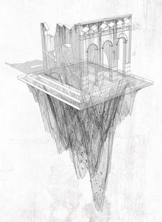 Beautifully drawn - from the Architectural Review's Folio