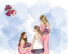 Afsana Parvez, Illustration