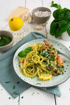 Sous Vide Kräutergalenen mit Pasta und Pesto von den [Foodistas]