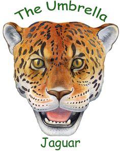 Umbrella Masks Jaguar -- Jan Brett