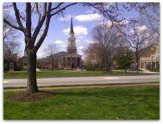 Worthington Presbyterian Church on the green #OldWorthington