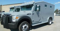 Armored Bank Trucks | Modified F-550 Armored Bank Truck built by Streit USA Armoring LLC ...