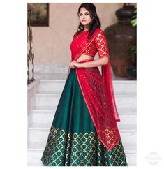 Swoon-Worthy Bridal lehenga Brands under budget Priyal Prakash Lehenga Saree Design, Half Saree Lehenga, Saree Look, Lehenga Designs, Saree Blouse Designs, Raw Silk Lehenga, Dress Designs, Lehenga With Price, Lehnga Dress