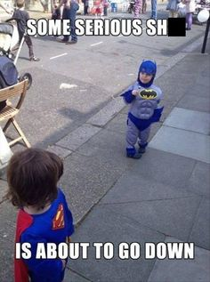 He's not the hero the playground needs, but he's the hero the playground deserves