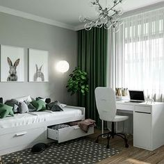 8 Beautiful Home Decor Wall hanging Ideas ! Teen Bedroom Designs, Room Design Bedroom, Room Ideas Bedroom, Home Room Design, Home Office Design, Baby Room Decor, Living Room Decor, Bedroom Decor, House Design