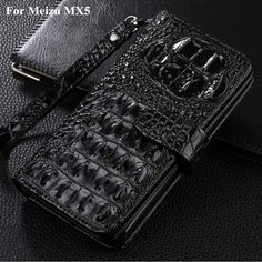For Meizu MX5  Case Cover Luxury  Leather Case Crocodile Flip Cover For Meizu MX5  Mobile Phone Cases Accessories