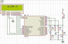 Capacitance meter with ATMega8L [microarena]