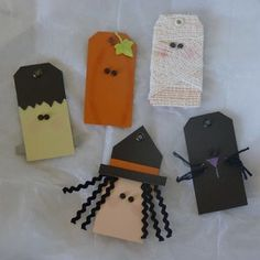 Halloween Paper Tags