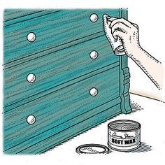 DIY: Vintage Dresser Makeover