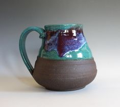 44 oz EXTRA LARGE Coffee Mug handthrown ceramic mug stoneware pottery mug unique coffee mug Extra Large Coffee Mugs, Unique Coffee Mugs, Pottery Mugs, Pottery Bowls, Stoneware Mugs, Ceramic Bowls, Wheel Thrown Pottery, Natural Texture, Clay