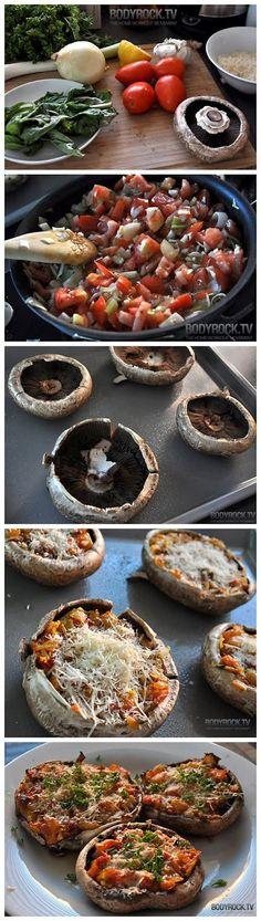Delicious & Healthy Pizza Recipe #BodyRockTv