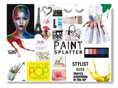 """""""Paint Splatter : Yoins"""" by laras03 ❤ liked on Polyvore featuring Marc Jacobs, Urban Decay, Smashbox, WALL, Oliver Gal Artist Co., Trademark Fine Art, Kate Spade, Gucci, Yves Saint Laurent and Bobbi Brown Cosmetics"""