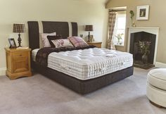 As well as the superior level of support provided by its springs, the Glamis mattress benefits from Warm Side and Cool Side technology for different seasons. Cool Beds, The Prestige, Amazing Beds, Mattress, It Is Finished, Sleep, Cool Stuff, Stability, Damask