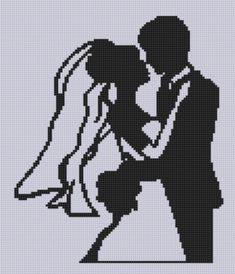 Wedding Dance Cross Stitch Pattern