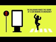 (3) PARISIAN ROAD SAFETY AUTHORITY / THE VIRTUAL CRASH BILLBOARD - YouTube