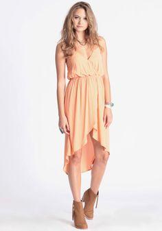Orange Creamsicle High-Low Dress 52.00 at http://www.threadsence.com/orange-creamsicle-highlow-dress-p-5109.html
