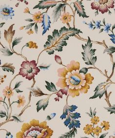 Fabric Print Design, Textile Design, Textile Patterns, Print Patterns, Pattern Art, Pattern Design, Floral Printables, Botanical Flowers, Pattern Wallpaper