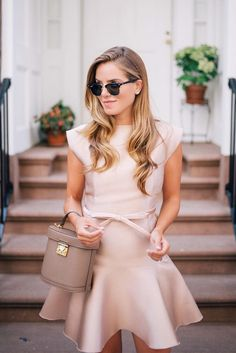 Cute Spring Outfits in Pastel Colors ★ See more: http://glaminati.com/cute-spring-outfits-pastel-colors/