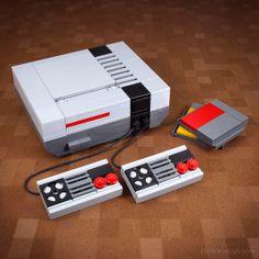 Minimalist LEGO Models Of Retro Television Sets, Phones & Cameras - DesignTAXI.com