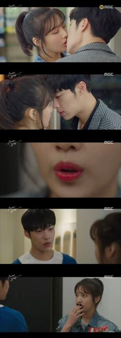 "[Spoiler] ""The Great Seducer"" Woo Do-hwan Can Only See Joy's Lips"