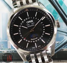 Frosty Contours!Oris 42mm Artix Complications Stainless #luxury cars #luxury homes #luxury house