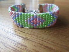 Www.missfratelli.nl #bracelets #pink #green #beads #handmade
