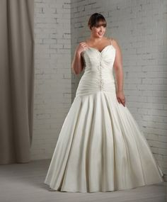 1115 gown from the 2012 Bonny Bridal collection, as seen on Bride.Canada