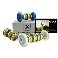 Our Performance Golf kit is the ultimate package to massage and maintain the eight areas of the body that have the greatest impact on a golfer's swing. This kit is what we recommend for anyone having aches and pains in areas such as, but not limited to, the: Soleus, Gastrocnemius, Quadriceps, Psoas, Piriformis, Lats, Pecs, and Thoracic Spine. $149.95 - Golf Training Aids: http://www.PlayBetterStore.com