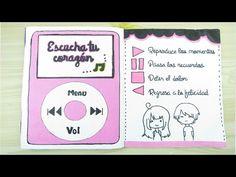 Libreta para mi novio ♥ Parte 8 Paso a paso - YouTube