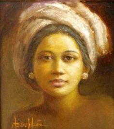 Abdul Aziz - Potret Gadis Muda   bevo portret   Pinterest   Search