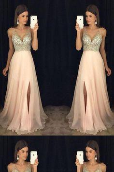 Prom Dresses Chiffon #PromDressesChiffon, Long Prom Dresses #LongPromDresses, Pink Prom Dresses #PinkPromDresses, Prom Dresses Long #PromDressesLong