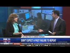 Dr. Mimi speaks on getting past a career plateau on Fox 35 news.