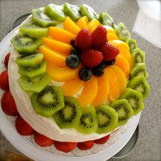 Eat Now Cry Later: Fruit filled spongecake