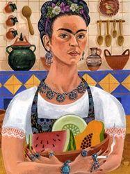 Kitchen Frida Print