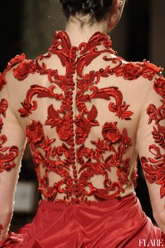 Marchesa-The Back Story-NYFW Fall 2012. Photo Courtesy of Marchesa.