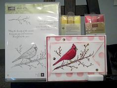 Stampin' Blendabilities, Stampin' UP!, Beauty of the Season. Hi Everyone! Video Tutorial on the link! Happy Crafting!~ Dee