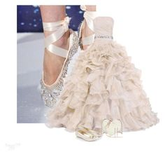 Luke Series 4/5 Diamond Ballerina by babygurl7191 on Polyvore featuring moda, Monsoon and Rebecca Minkoff