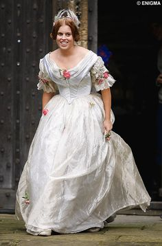 The Young Victoria, 2009 film. Princess Beatrice, eldest daughter of Prince Andres and Sarah, Duchess of York, made her film debut in a small cameo role. She became the first member of the Royal Family to appear in a non-documentary film. Princess Beatrice is actually a great-great-great-great-granddaughter of Queen Victoria.