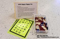 Mrs. King's Music Room: Centers: ABC Sing with Me